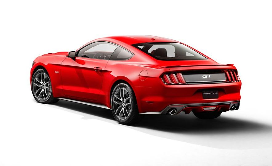 2015 Ford Mustang 50th Anniversary Edition (spy photo) - Slide 34