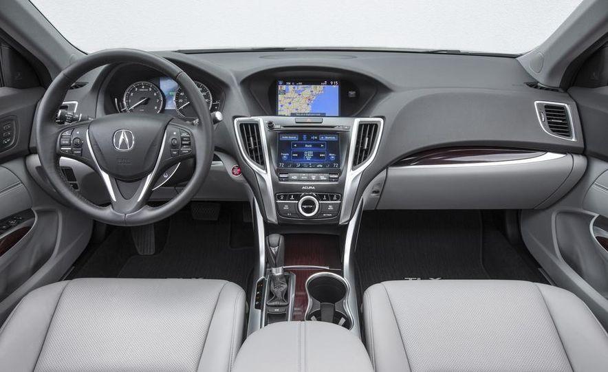 2015 Acura TLX 2.4L, 3.5L, and 3.5L SH-AWD - Slide 16