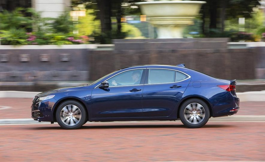 2015 Acura TLX 2.4L, 3.5L, and 3.5L SH-AWD - Slide 7