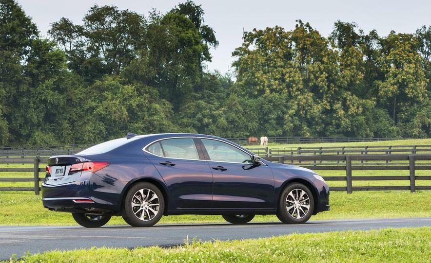 2015 Acura TLX 2.4L, 3.5L, and 3.5L SH-AWD - Slide 9