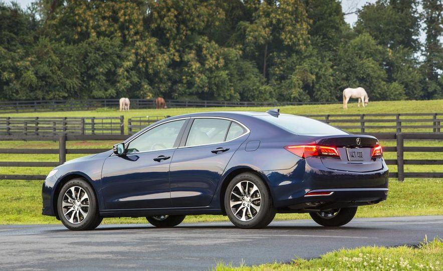 2015 Acura TLX 2.4L, 3.5L, and 3.5L SH-AWD - Slide 11