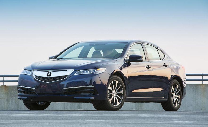 2015 Acura TLX 2.4L, 3.5L, and 3.5L SH-AWD - Slide 12