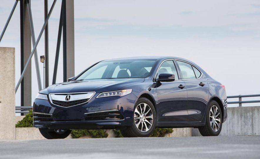 2015 Acura TLX 2.4L, 3.5L, and 3.5L SH-AWD - Slide 13