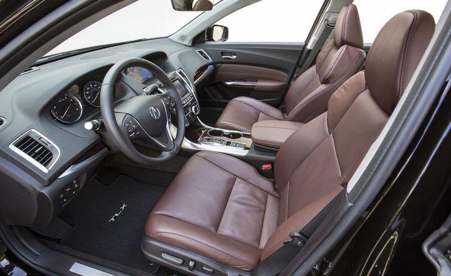 2015 Acura TLX 2.4L, 3.5L, and 3.5L SH-AWD - Slide 36