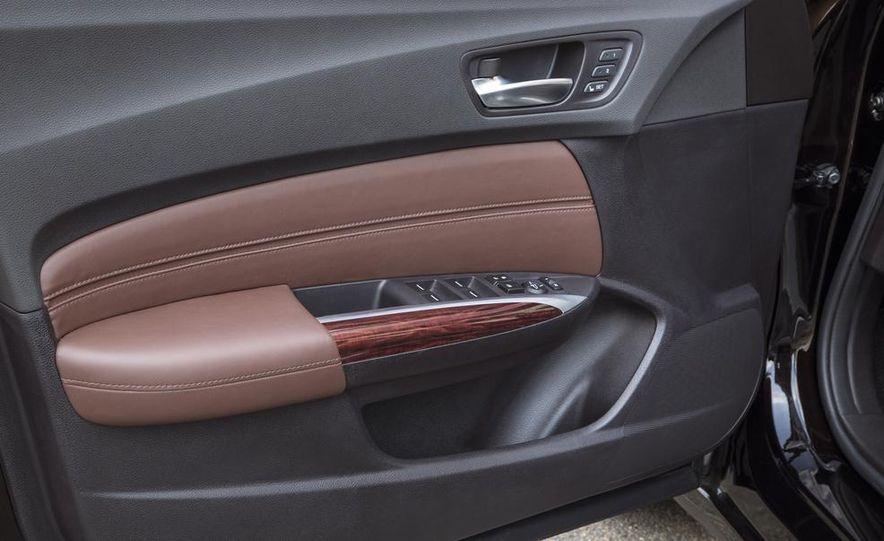 2015 Acura TLX 2.4L, 3.5L, and 3.5L SH-AWD - Slide 38