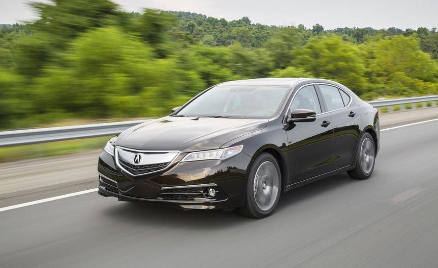 2015 Acura TLX 2.4L, 3.5L, and 3.5L SH-AWD - Slide 20