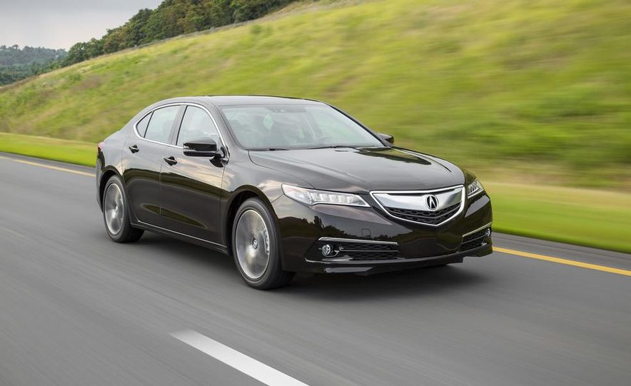 2015 Acura TLX 2.4L, 3.5L, and 3.5L SH-AWD - Slide 21