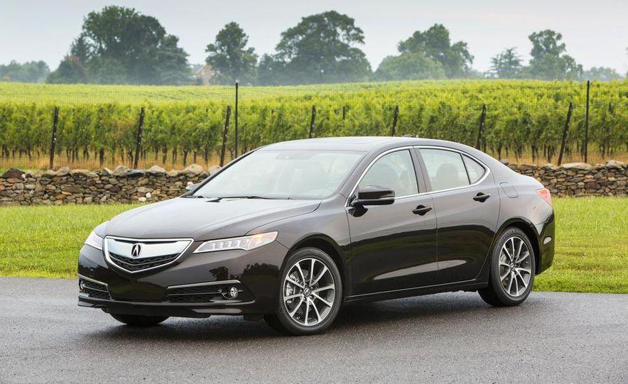 2015 Acura TLX 2.4L, 3.5L, and 3.5L SH-AWD - Slide 24