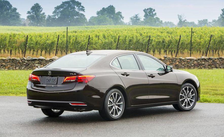 2015 Acura TLX 2.4L, 3.5L, and 3.5L SH-AWD - Slide 26