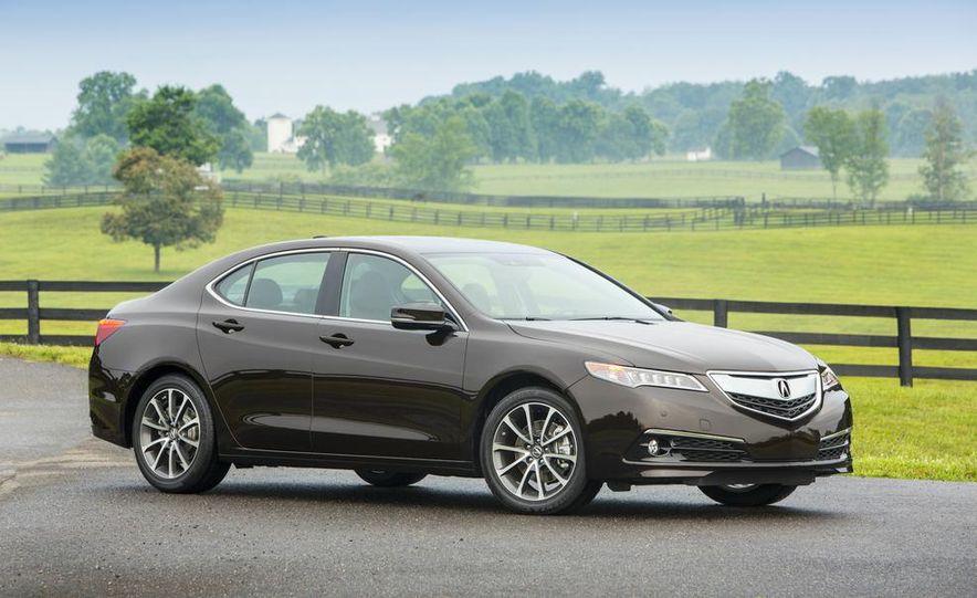 2015 Acura TLX 2.4L, 3.5L, and 3.5L SH-AWD - Slide 27