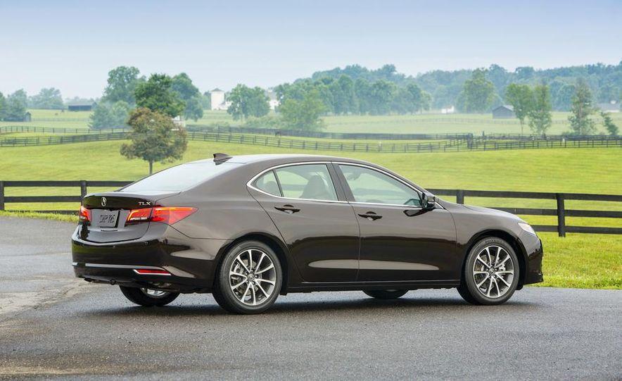 2015 Acura TLX 2.4L, 3.5L, and 3.5L SH-AWD - Slide 28