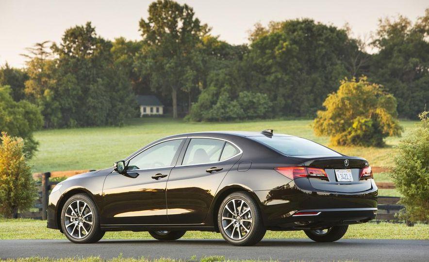 2015 Acura TLX 2.4L, 3.5L, and 3.5L SH-AWD - Slide 29