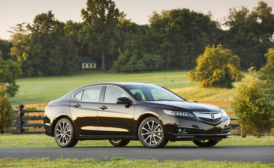 2015 Acura TLX 2.4L, 3.5L, and 3.5L SH-AWD - Slide 30