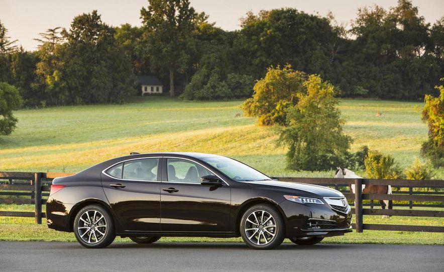 2015 Acura TLX 2.4L, 3.5L, and 3.5L SH-AWD - Slide 31
