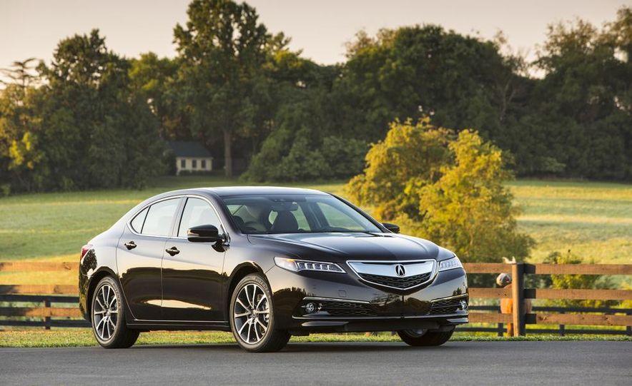2015 Acura TLX 2.4L, 3.5L, and 3.5L SH-AWD - Slide 32