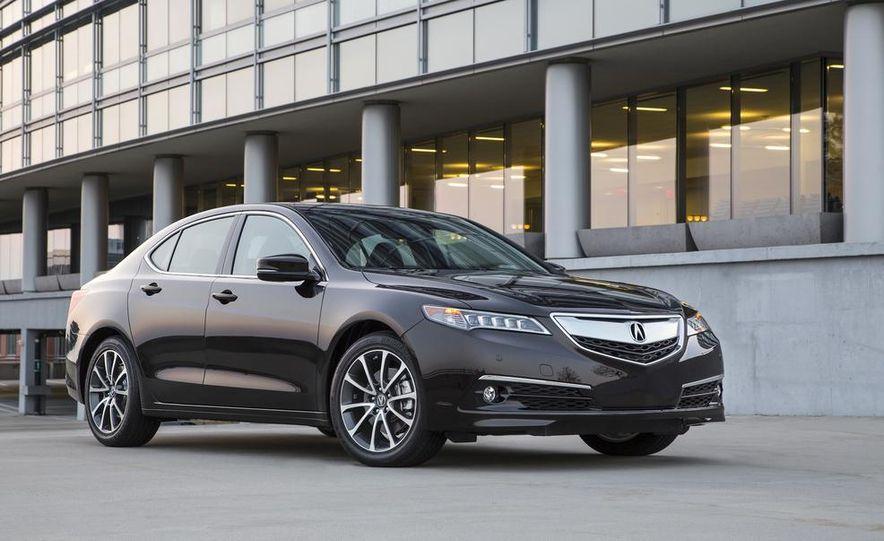 2015 Acura TLX 2.4L, 3.5L, and 3.5L SH-AWD - Slide 33