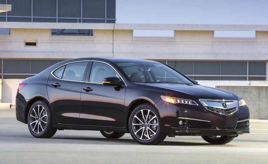 2015 Acura TLX 2.4L, 3.5L, and 3.5L SH-AWD - Slide 34