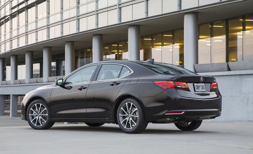2015 Acura TLX 2.4L, 3.5L, and 3.5L SH-AWD - Slide 35