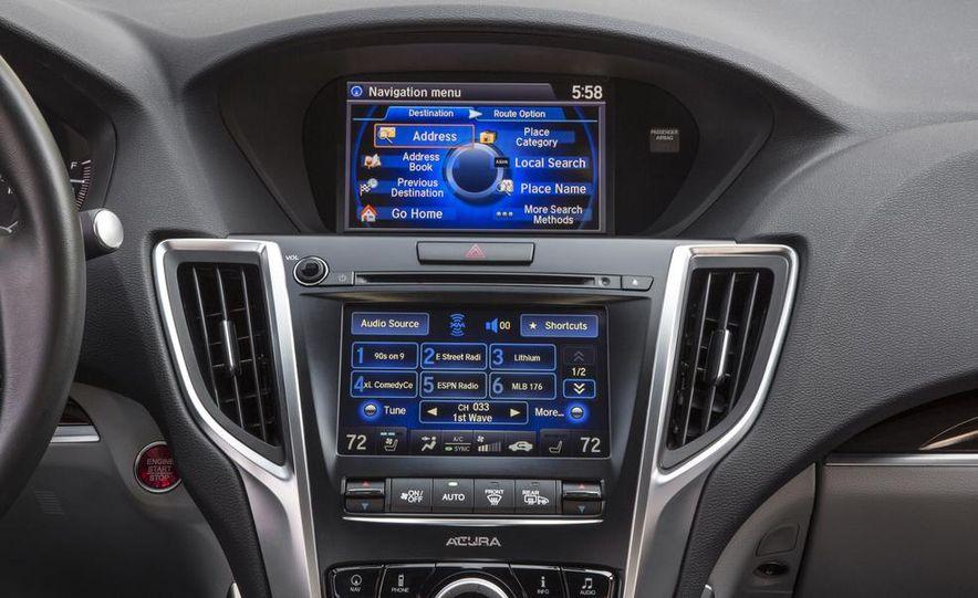 2015 Acura TLX 2.4L, 3.5L, and 3.5L SH-AWD - Slide 113