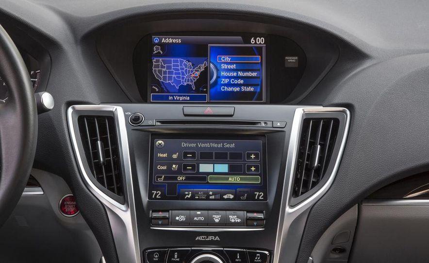 2015 Acura TLX 2.4L, 3.5L, and 3.5L SH-AWD - Slide 114