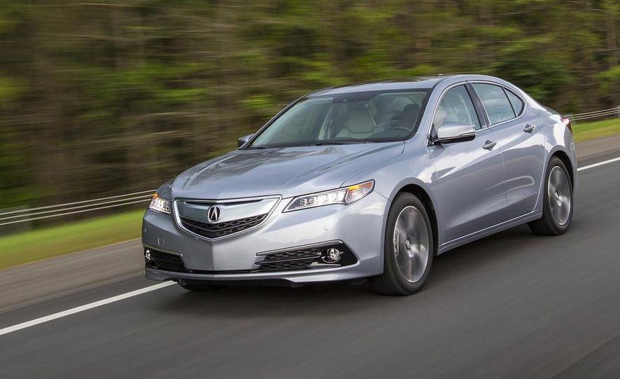 2015 Acura TLX 2.4L, 3.5L, and 3.5L SH-AWD - Slide 41