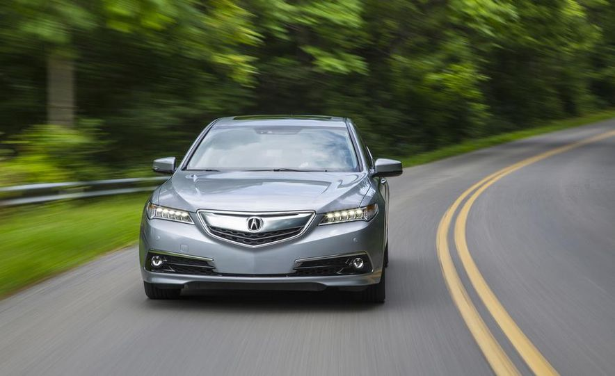 2015 Acura TLX 2.4L, 3.5L, and 3.5L SH-AWD - Slide 42