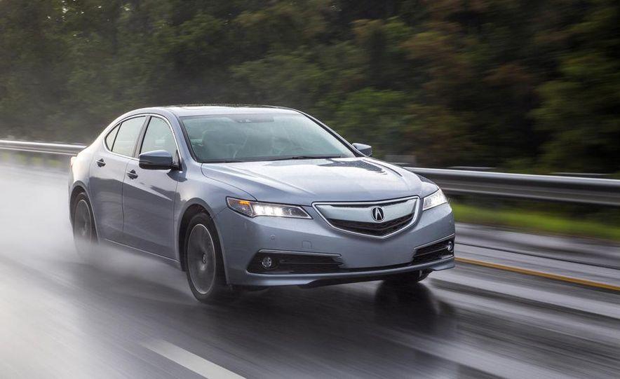 2015 Acura TLX 2.4L, 3.5L, and 3.5L SH-AWD - Slide 43