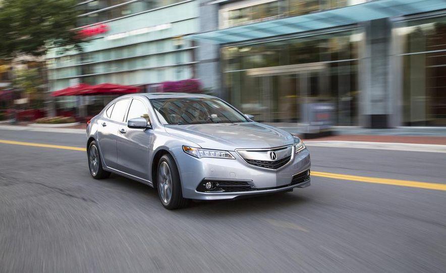 2015 Acura TLX 2.4L, 3.5L, and 3.5L SH-AWD - Slide 45