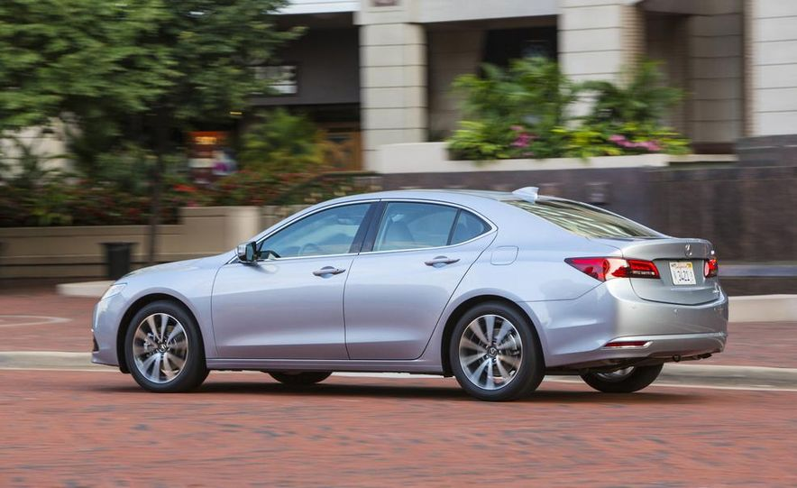 2015 Acura TLX 2.4L, 3.5L, and 3.5L SH-AWD - Slide 50