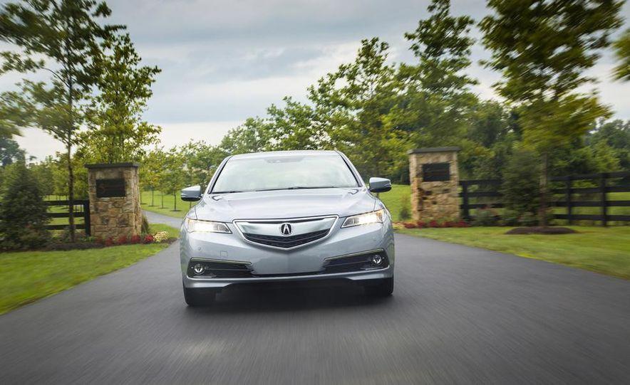2015 Acura TLX 2.4L, 3.5L, and 3.5L SH-AWD - Slide 53