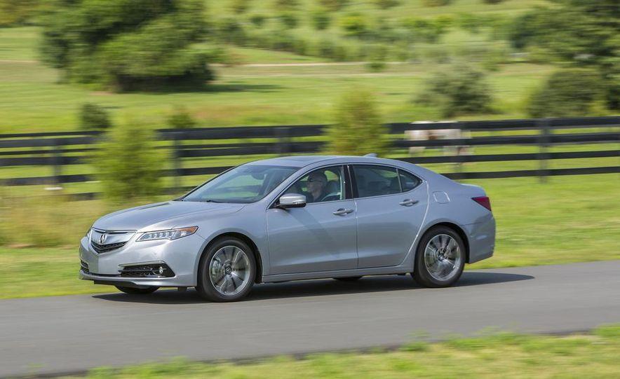 2015 Acura TLX 2.4L, 3.5L, and 3.5L SH-AWD - Slide 55