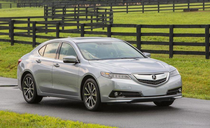 2015 Acura TLX 2.4L, 3.5L, and 3.5L SH-AWD - Slide 56