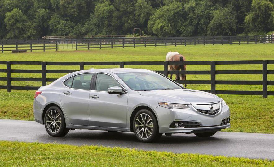 2015 Acura TLX 2.4L, 3.5L, and 3.5L SH-AWD - Slide 57