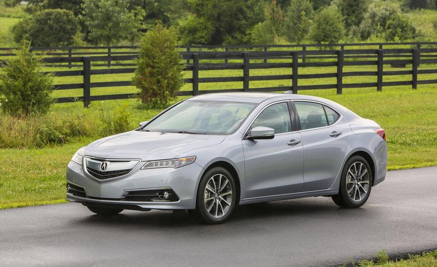 2015 Acura TLX 2.4L, 3.5L, and 3.5L SH-AWD - Slide 59