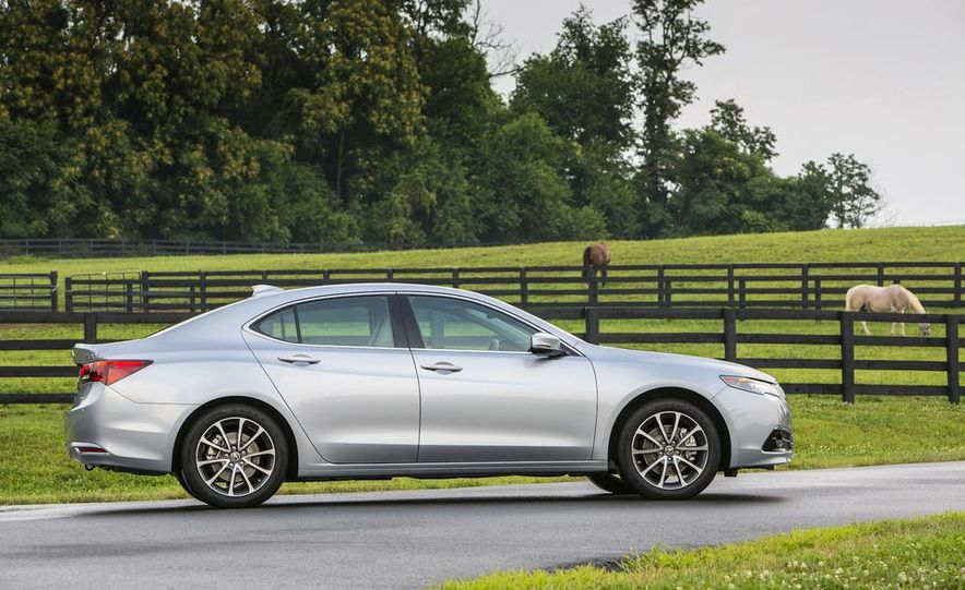 2015 Acura TLX 2.4L, 3.5L, and 3.5L SH-AWD - Slide 60
