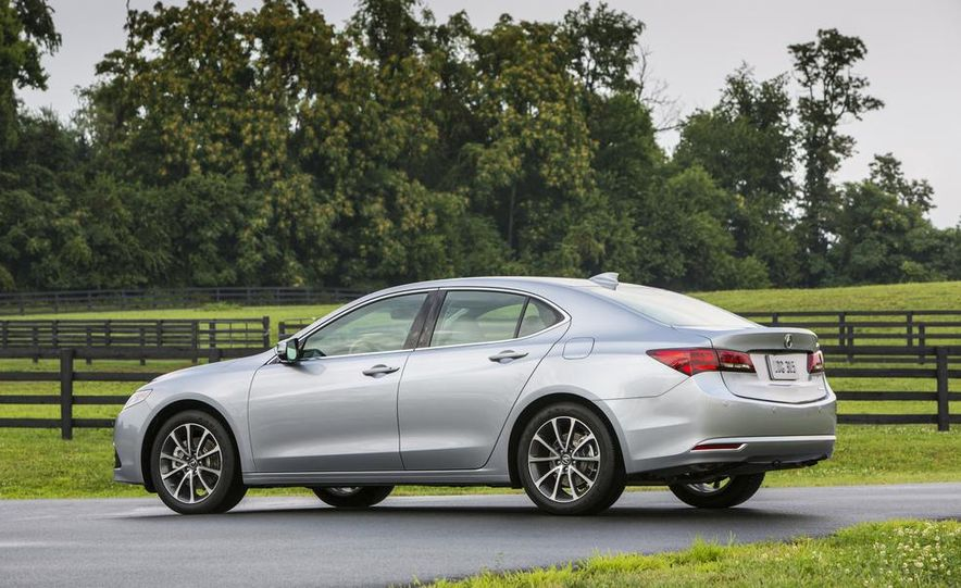 2015 Acura TLX 2.4L, 3.5L, and 3.5L SH-AWD - Slide 61