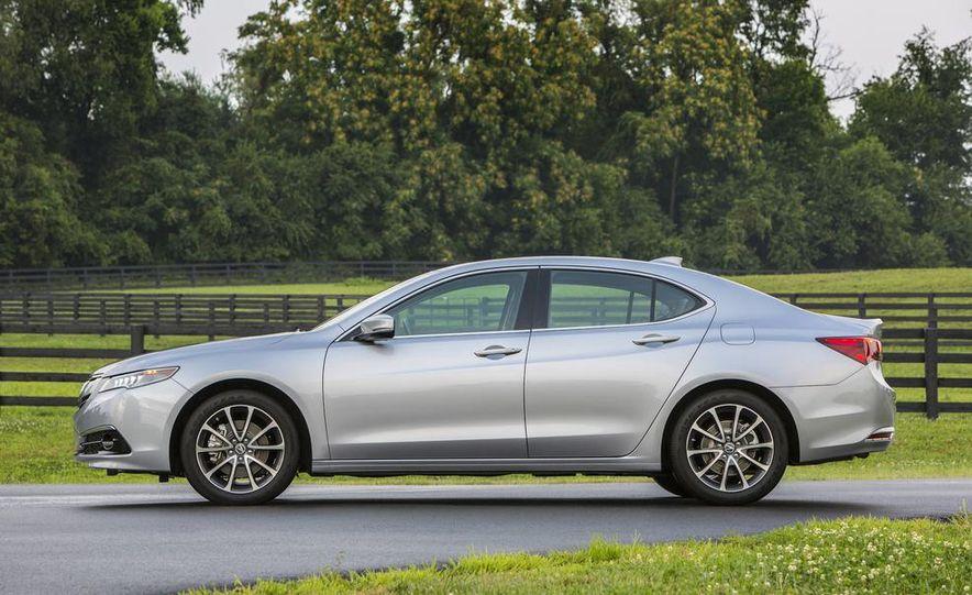 2015 Acura TLX 2.4L, 3.5L, and 3.5L SH-AWD - Slide 62