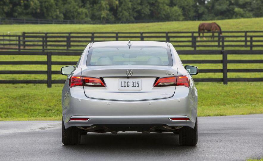 2015 Acura TLX 2.4L, 3.5L, and 3.5L SH-AWD - Slide 64