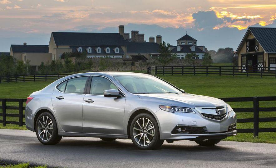 2015 Acura TLX 2.4L, 3.5L, and 3.5L SH-AWD - Slide 65