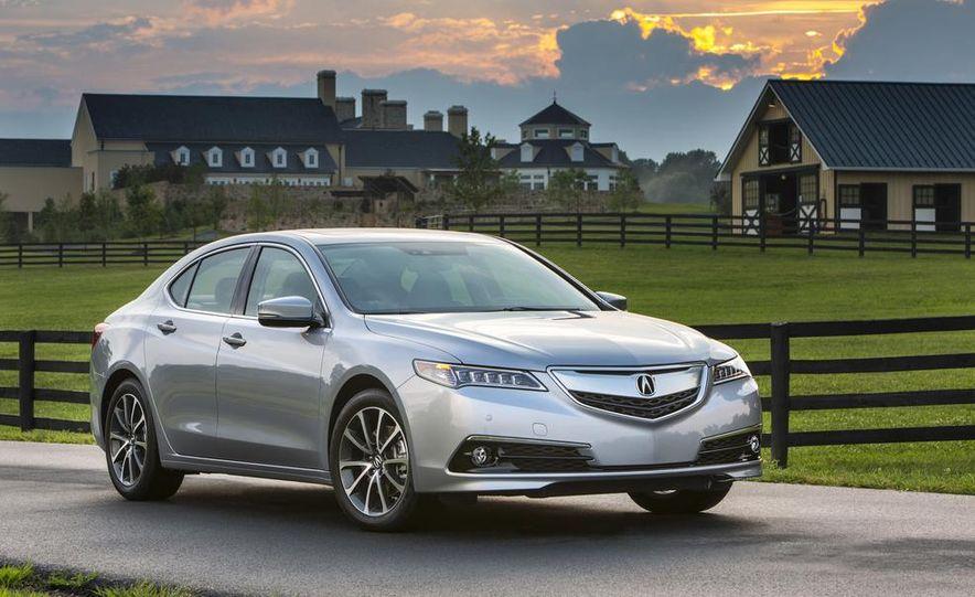 2015 Acura TLX 2.4L, 3.5L, and 3.5L SH-AWD - Slide 66