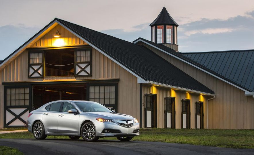 2015 Acura TLX 2.4L, 3.5L, and 3.5L SH-AWD - Slide 68