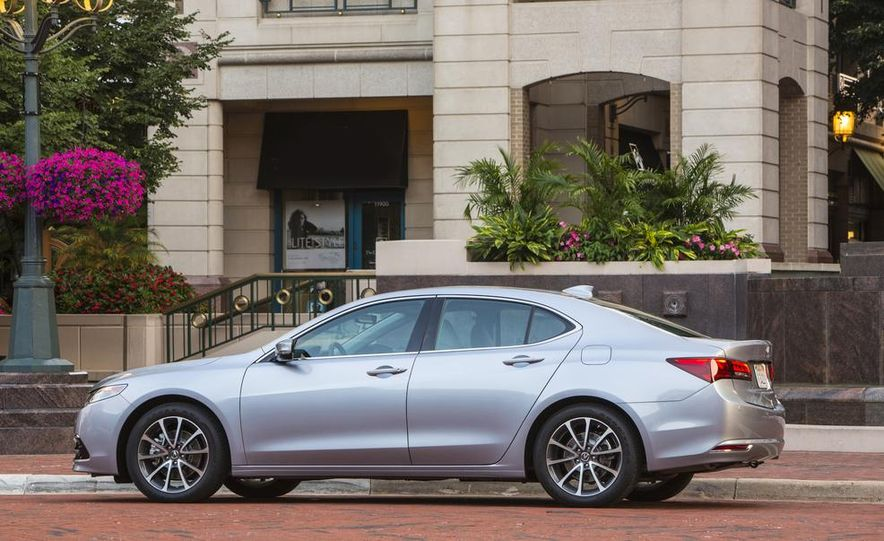 2015 Acura TLX 2.4L, 3.5L, and 3.5L SH-AWD - Slide 70