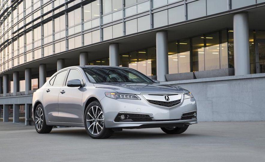 2015 Acura TLX 2.4L, 3.5L, and 3.5L SH-AWD - Slide 71