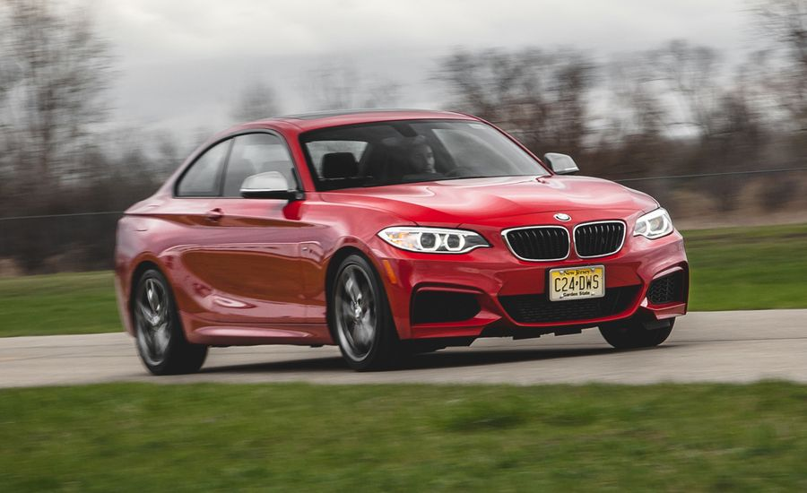 BMW Mi Automatic Test Review Car And Driver - 2014 bmw m235i