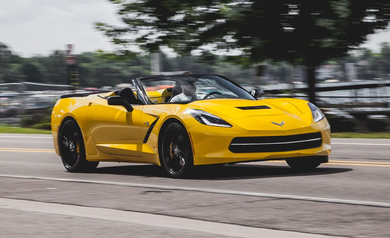 2014 Chevrolet Corvette Stingray Z51 >> 2014 Chevrolet Corvette Stingray Z51 Convertible Test