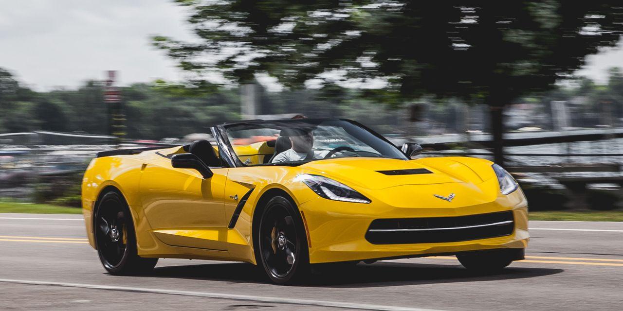 2014 Chevrolet Corvette Stingray Z51 Convertible
