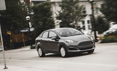 2014 Ford Fiesta 1.0L EcoBoost Sedan