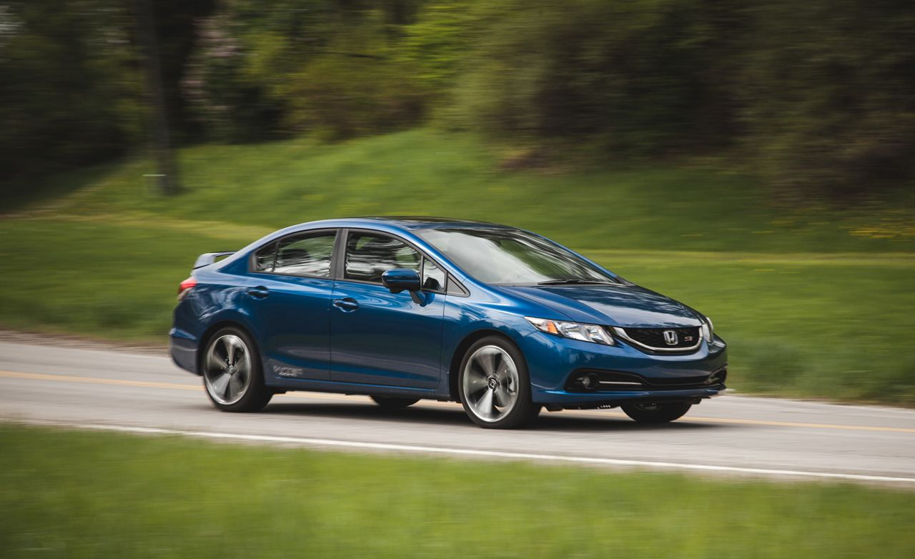 2014 Honda Civic Si Sedan Test  Review  Car and Driver