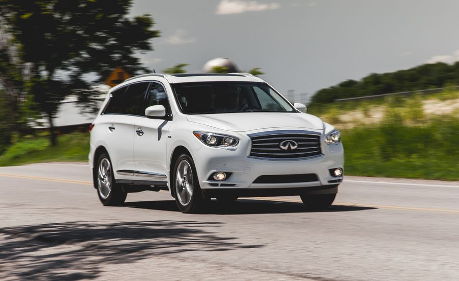 2014 infiniti qx60 hybrid awd test review car and driver. Black Bedroom Furniture Sets. Home Design Ideas