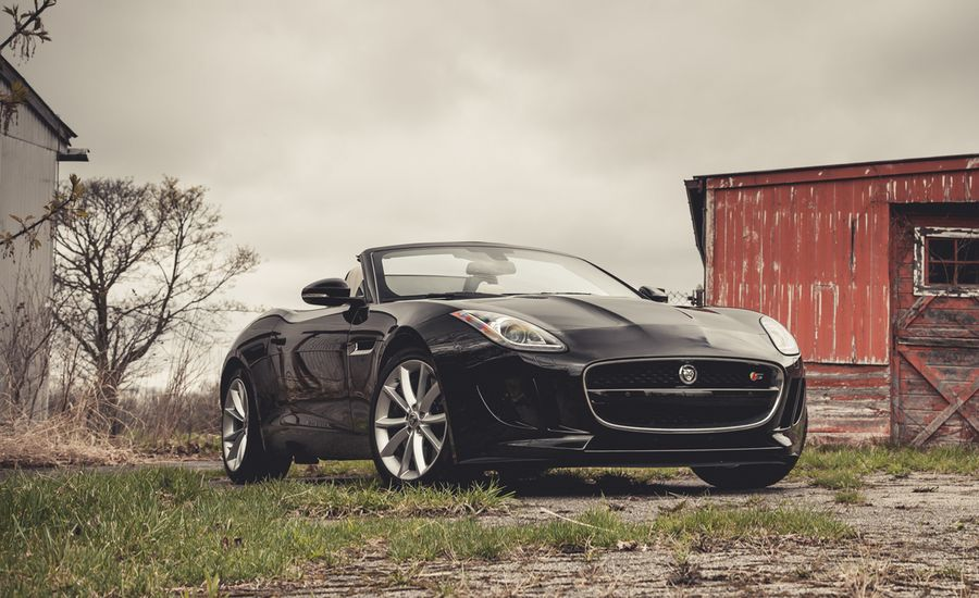 2014 Jaguar F-type V-6 S Roadster